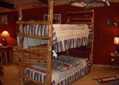Bed-Twin Bunk-Cedar