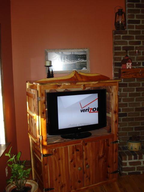Cedar TV Cabinet