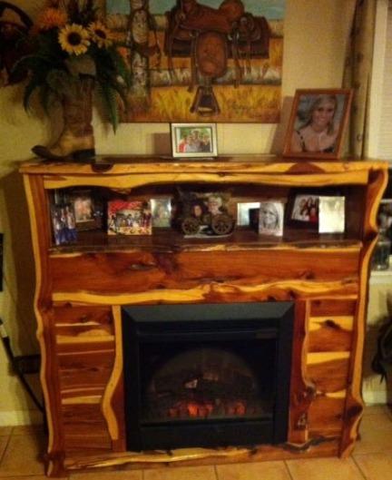 Fireplace.Cedar