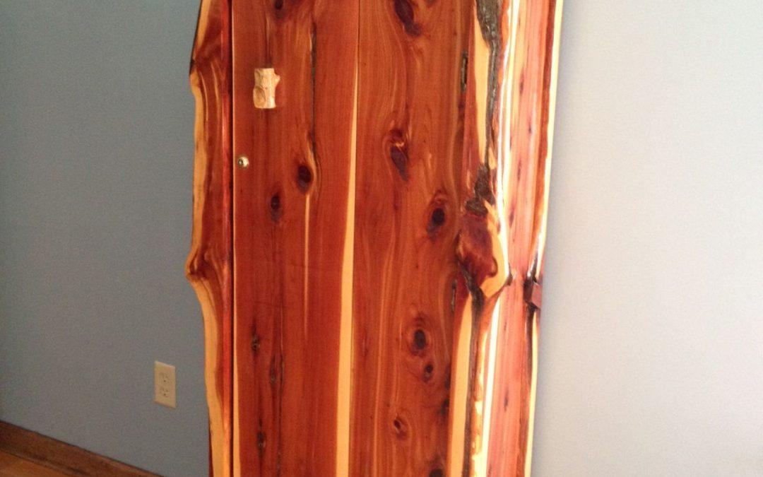 Gun Cabinet-Cedar