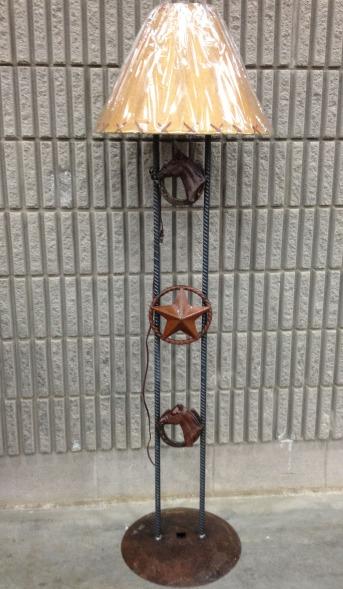 Floor Lamp-Horsehead