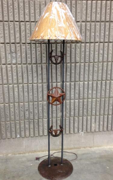 Floor Lamp-Longhorn