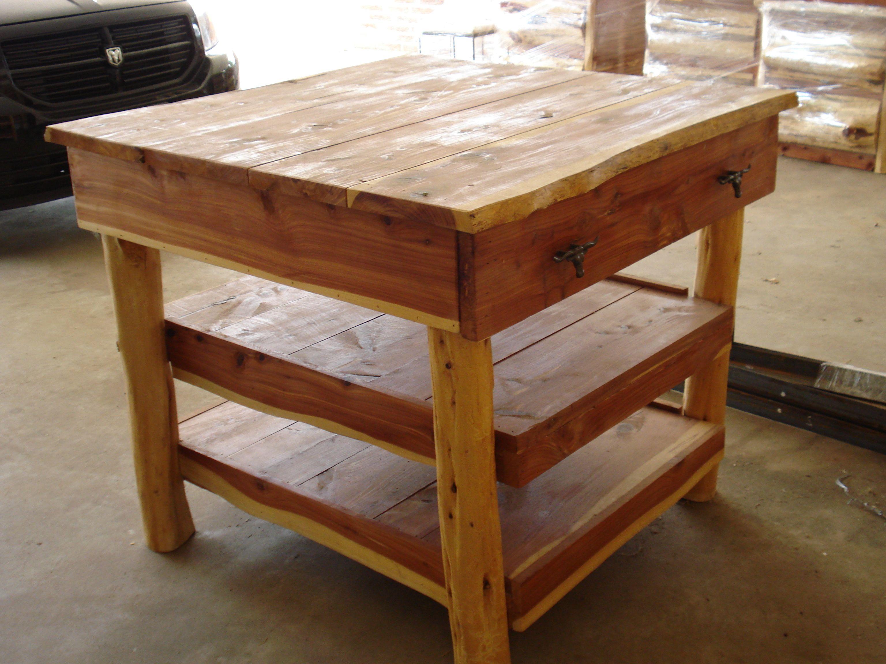 Cedar Kitchen Table