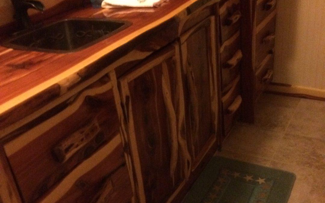 Bath Room-Cedar Counter