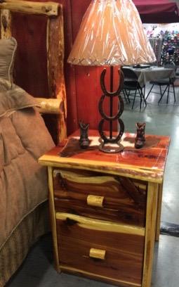 Bedside Table Cedar