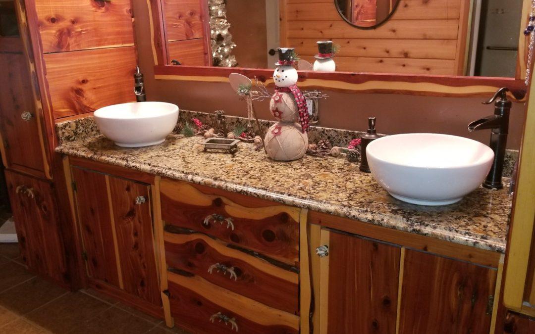Cedar Bathroom-Wooten