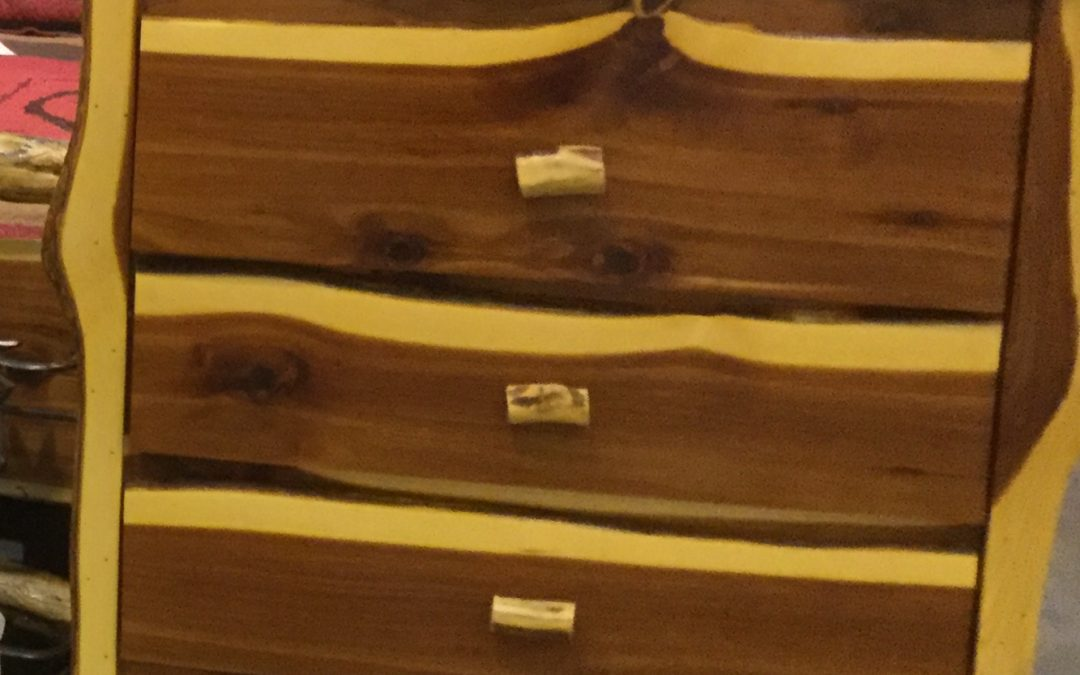 Cedar Chest of Drawers