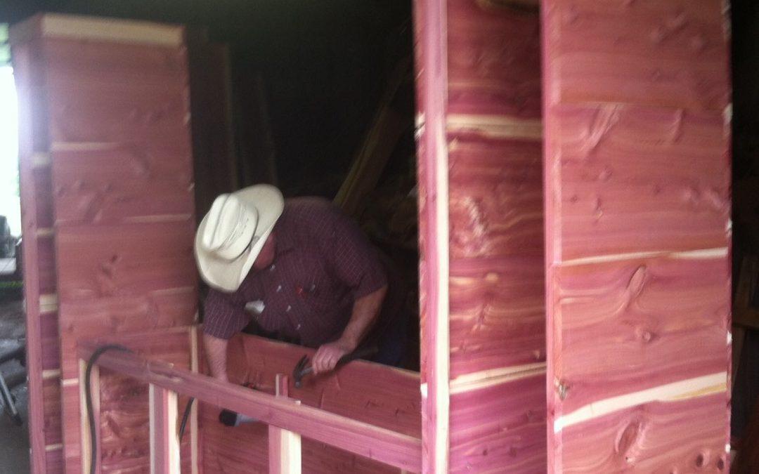 Charles-Building Out Bath Framework