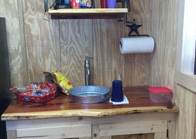 Western Mini-Kitchen Counter